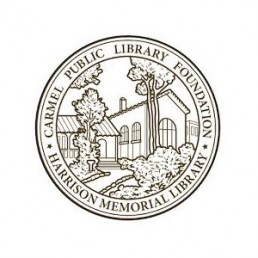 Carmel Public Library Foundation seal/logo